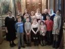 Хор Воскресной школы пел на Литургии