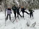 Лыжный поход воскресной школы–2021