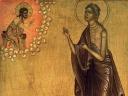 Преподобная Мария Египетская.  Святитель Тихон Московский