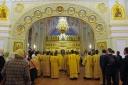 Накануне Дня ПСТГУ в Князь-Владимирском храме прошло праздничное всенощное бдение