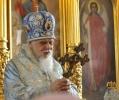 В день храмового праздника иконы Божией Матери Утоли Моя Печали богослужение возглавил преосвященнейший Пантелеимон епископ Орехово-Зуевский
