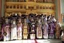 Божественная Литургия в день 80-летия протоиерея Владимира Воробьева (+ФОТО)